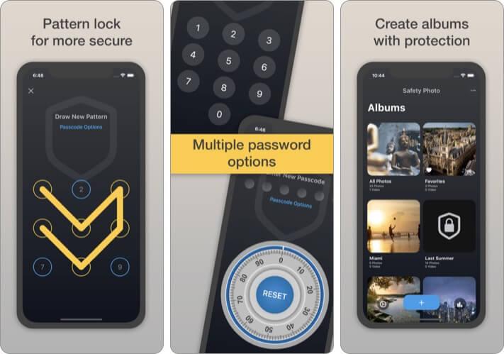 Безопасность Фото + Видео Pro Безопасность Приложение для iPhone и iPad Скриншот
