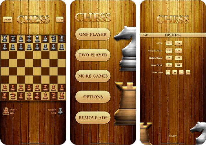 Скриншот игры Chess для iPhone и iPad