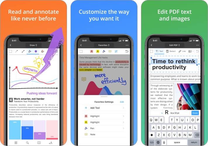 PDF Expert PDF Editor Скриншот приложения для iPhone и iPad