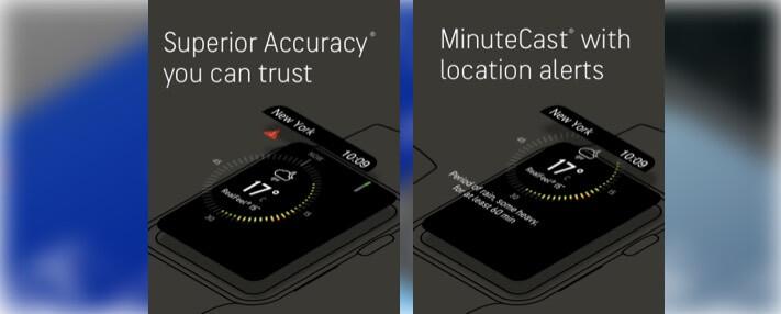 AccuWeather - Погодный радар для Apple Watch Скриншот приложения