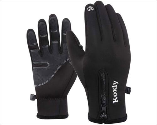 Перчатки Koxly с сенсорным экраном для iPhone и iPad