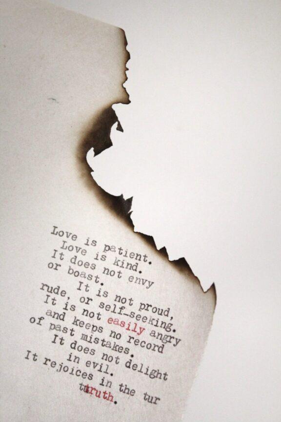 Поэтическая любовная записка День Святого Валентина iPhone Обои