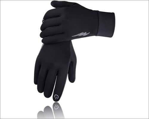 Перчатки SIMARI с сенсорным экраном для iPhone и iPad