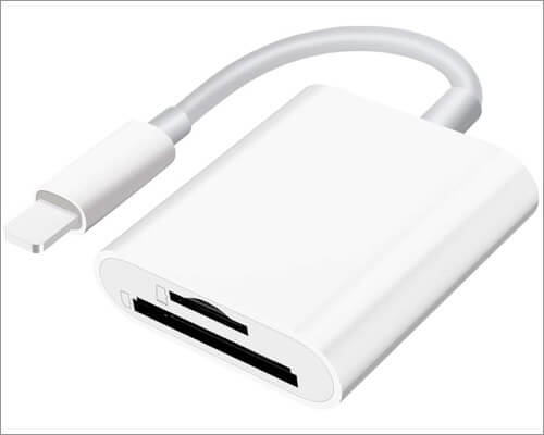 SUNTRSI Lightning to SD Card Camera Reader для iPhone и iPad