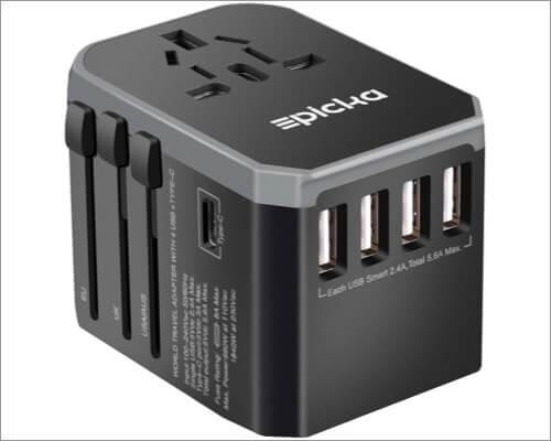 Универсальное сетевое зарядное устройство Epicka all-in-one для iPhone