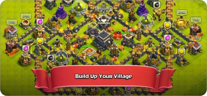 Скриншот игры Clash of Clans для iPhone