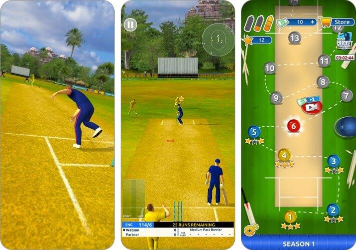 крикет мегазвезда iPhone и iPad скриншот приложения