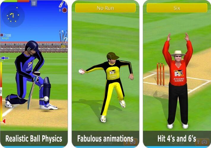 разбить крикет iPhone и скриншот приложения для iPad