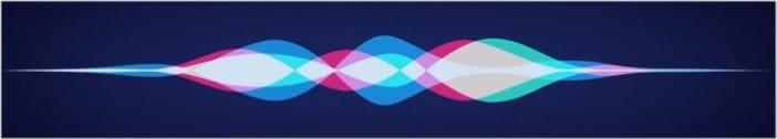 Дизайн волны Apple Siri