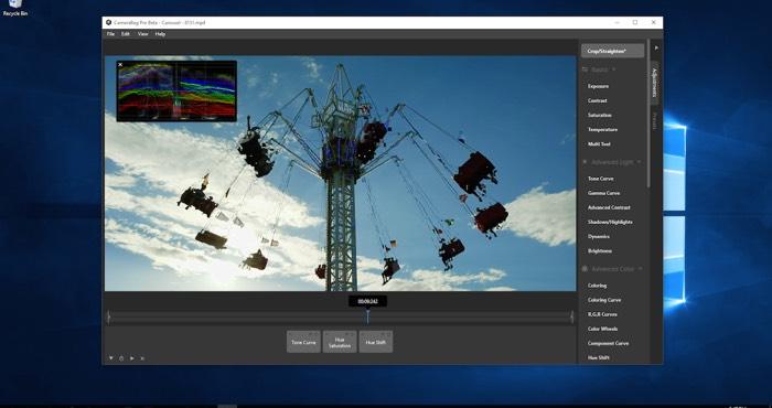 Программа для редактирования видео CameraBag Pro для Mac