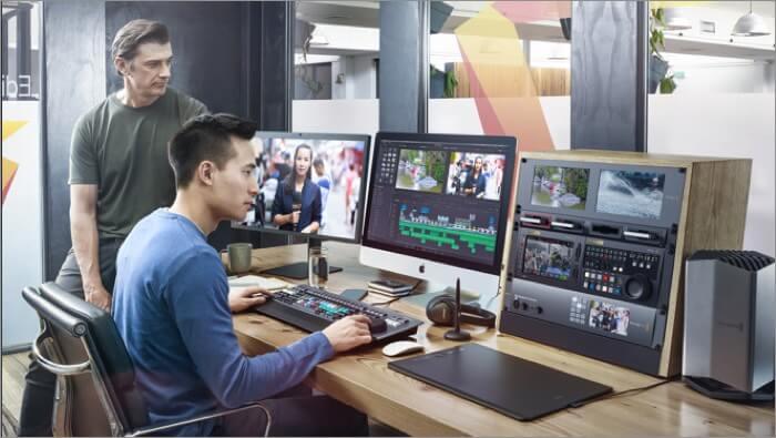 Программное обеспечение для редактирования видео DaVinci Resolve 16 для Mac