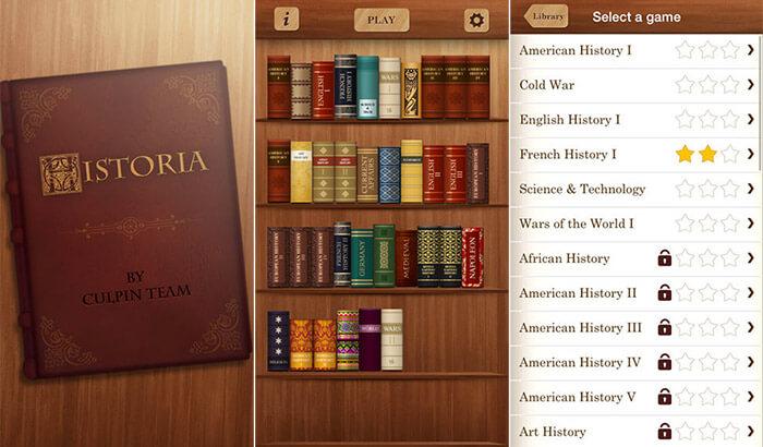 Скриншот приложения Historia World для iPhone и iPad