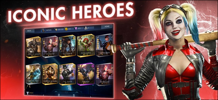 Скриншот приложения Injustice 2 для iPhone и iPad Fighting Game