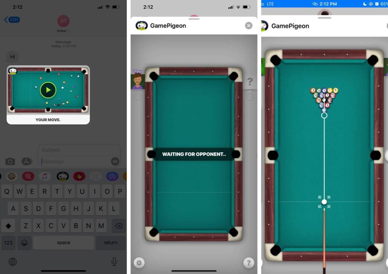Играйте в игры iMessage на iPhone со своими контактами