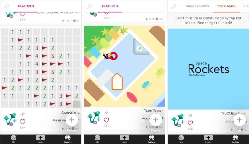 Огромное сообщество приложений Hopscotch для iPhone и iPad