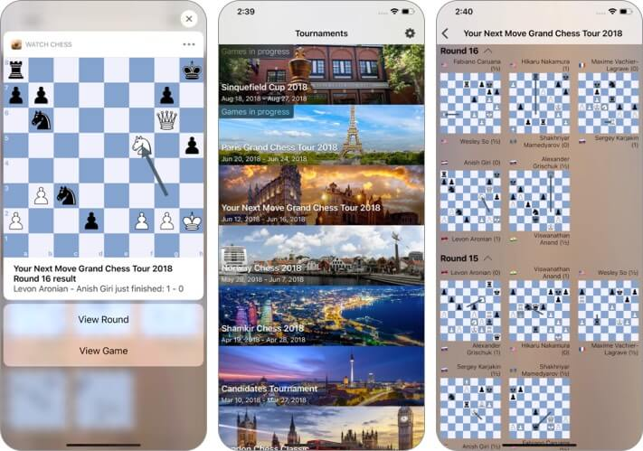 Смотрите скриншот сторонних виджетов Chess iOS 14 для iPhone