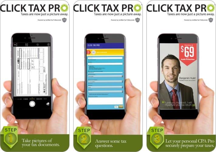 щелкните скриншот приложения Tax Pro для iphone и ipad