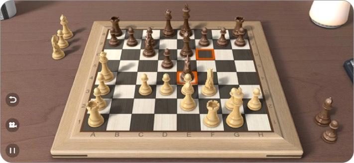 настоящие шахматы 3d скриншот игры для iphone и ipad