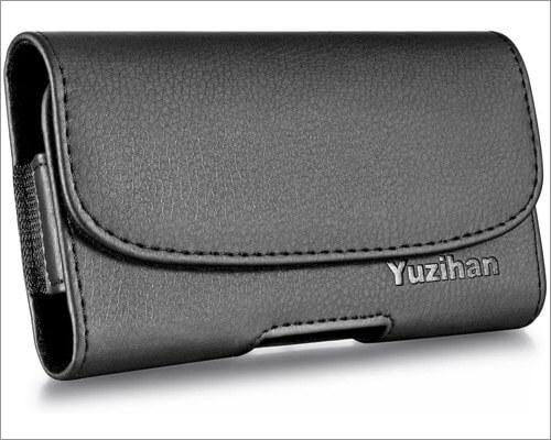 кожаный чехол-кобура yuzihan для iphone xr