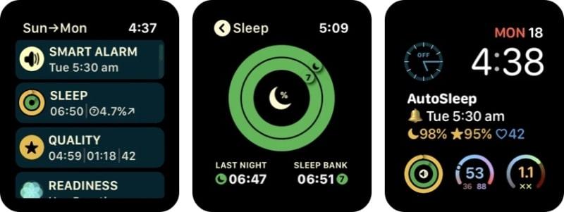 Приложение AutoSleep для Apple Watch