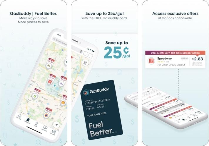 Скриншот приложения GasBuddy - Find & Pay for Gas для iPhone и iPad