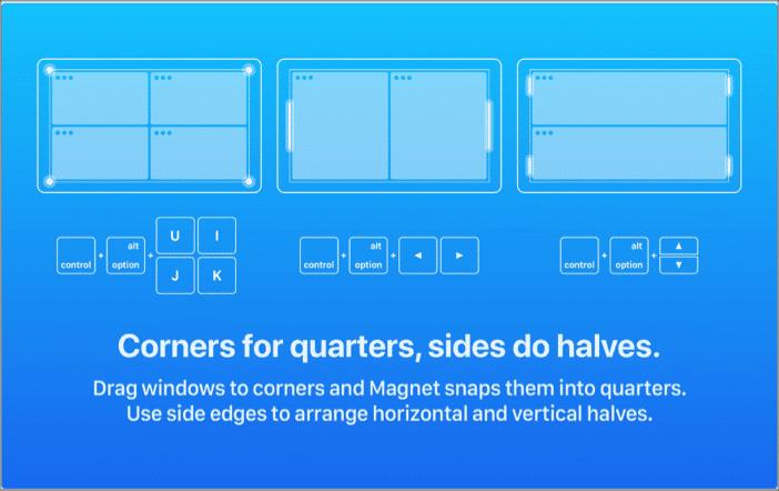 Используйте приложение Magnet для многооконного режима в macOS Big Sur