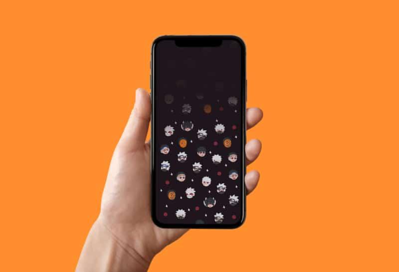 Обои Наруто для iPhone 10