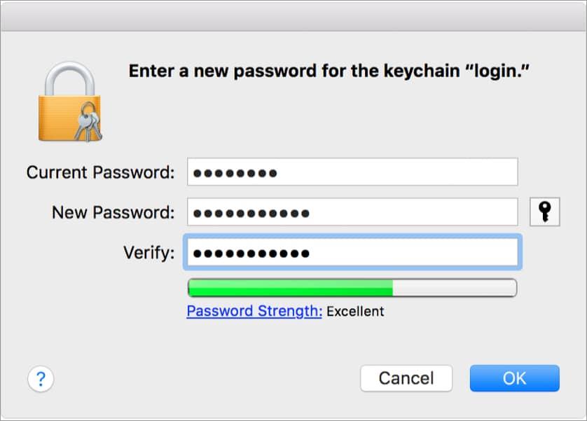 Введите запрошенные пароли, подтвердите свою информацию и нажмите ОК.