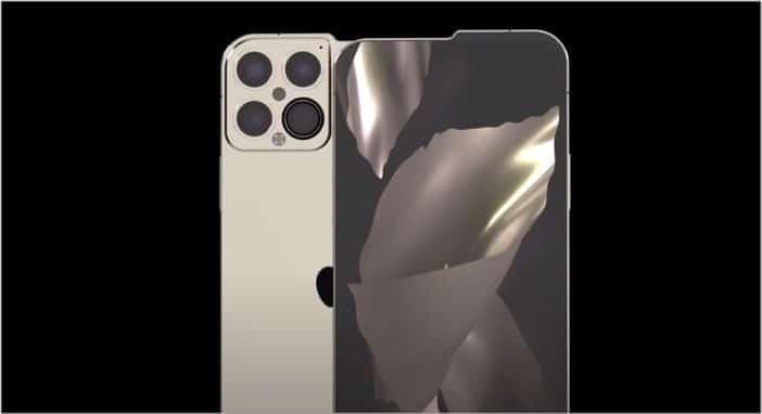 Концептуальный образ iPhone 13