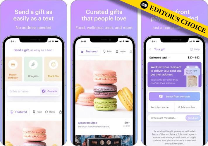 Скриншот приложения Goody Gift для iPhone