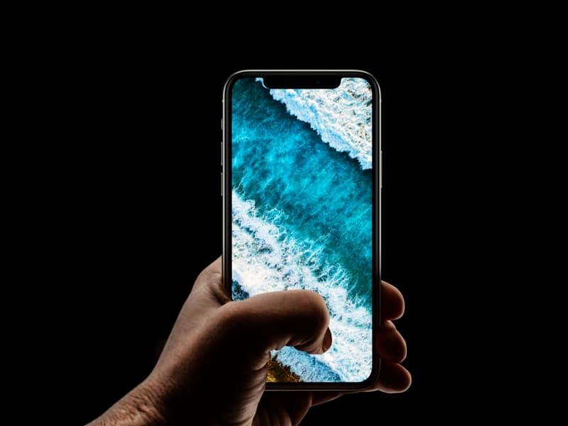 Эстетический пляж iPhone Обои