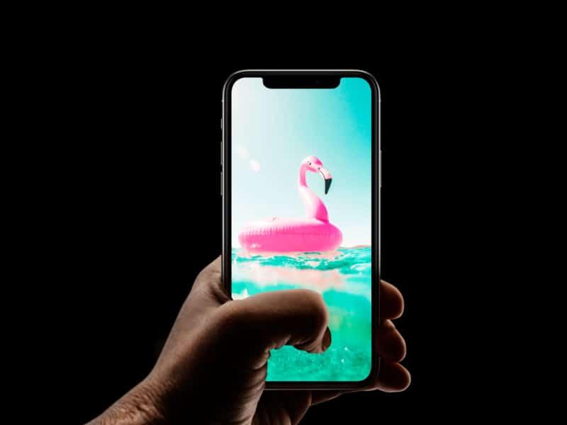 Симпатичный пляжный поплавок iPhone Обои