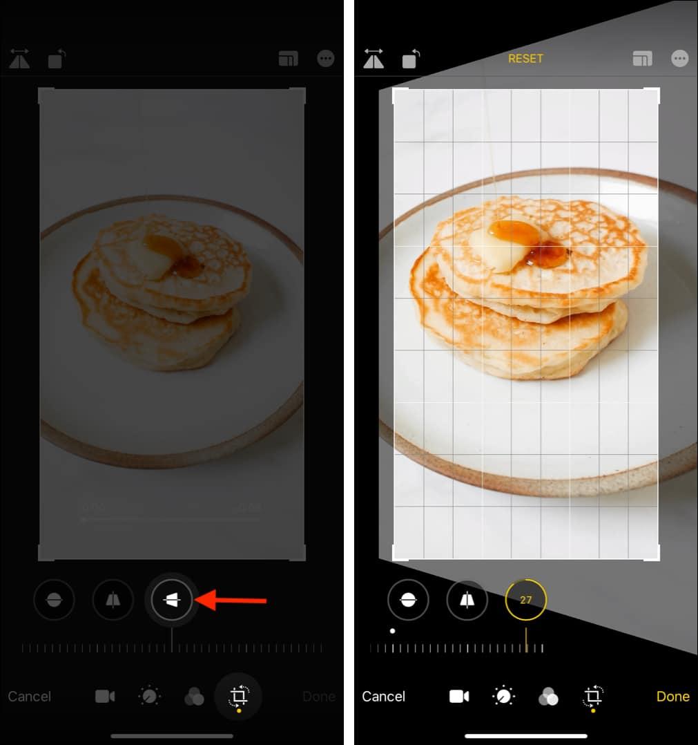 Как растянуть видео по горизонтали на iPhone или iPad