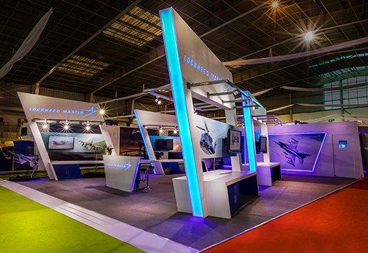 Lockheed Martin Custom International Exhibit  Custom Designed by IGE