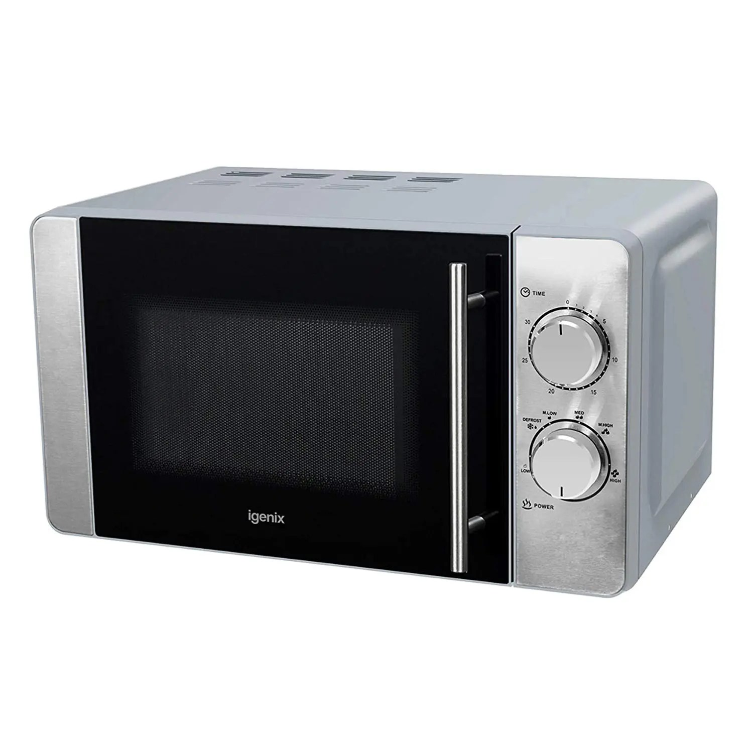 manual microwave 5 power settings 20 litre 800w white ig2084