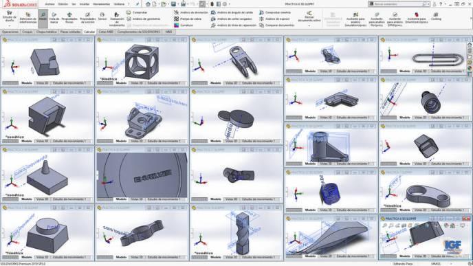 AutoCAD 2D y SolidWorks - igf.es