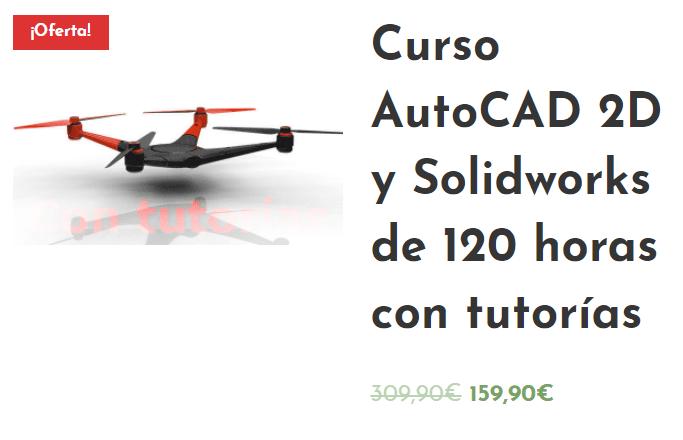 Curso AutoCAD 2D + SolidWorks