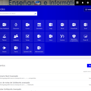 Cursos bonificados de Office 365