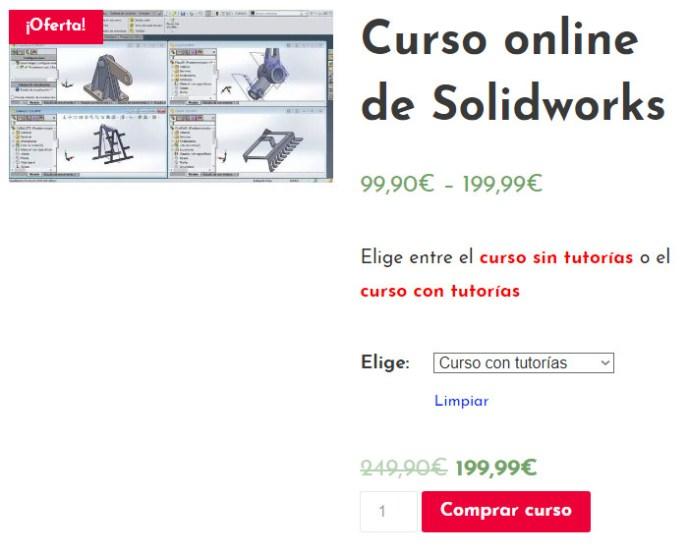 Curso online de Solidworks en el Instituto Galego de Formación