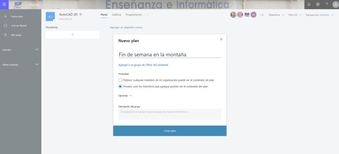 Nuevo plan - Instituto Galego de Formación