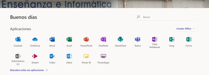 Nuevos iconos office 365 - Instituto Galego de Formación