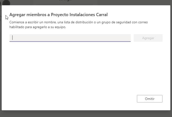 Agregar miembros - Instituto Galego de Formación