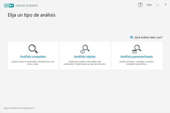Análisis completo ESET - Instituto Galego de Formación