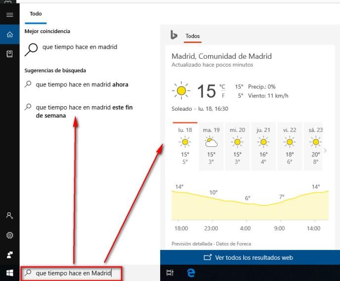 Preguntarle a Cortana en Windows 10  - Instituto Galego de Formación