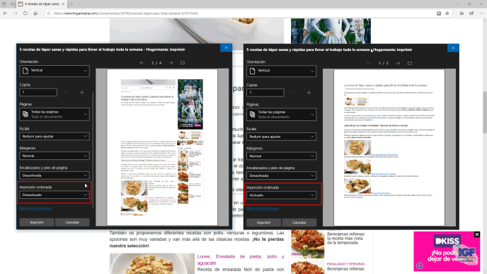 Imprimir sin anuncios una página web impresión ordenada - igf.es