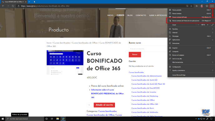 Navegar con seguridad por Internet con Microsoft Edge