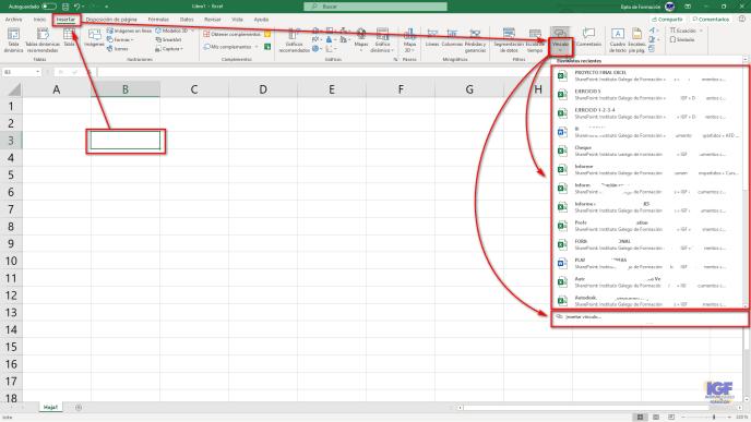 Como crear hipervínculos en Excel