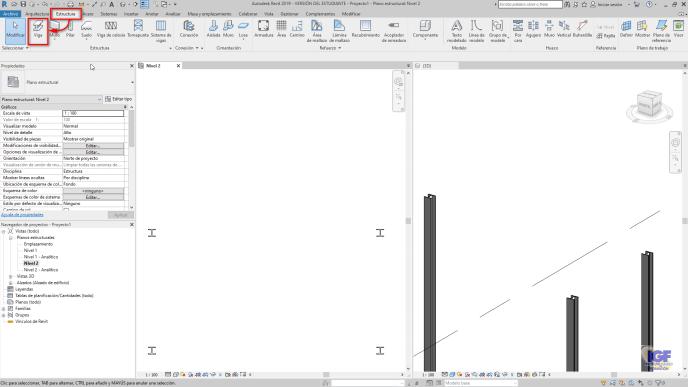 Como crear una viga curva en Revit