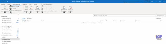 Métodos abreviados de teclado para Outlook enviar y recibir - igf.es