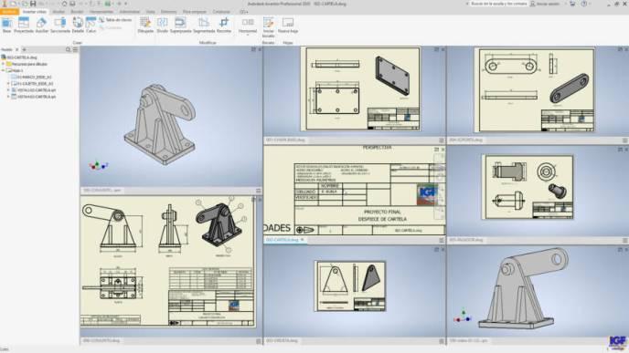 Autodesk Inventor ensamblajes - igf.es